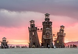 Art installation at Burning Man 2016